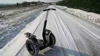 Segway sur la neige