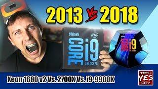 Xeon 1680 v2 Vs. 2700X Vs. i9-9900K - Gaming Benchmarks - Part 1/3