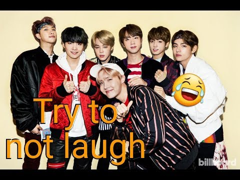 BTS try to not laugh (vostfr)