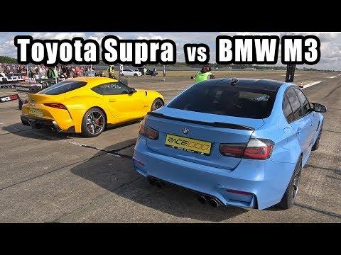 700HP Toyota GR Supra vs 650HP BMW M3 F80