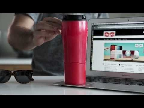 video Anti-Tipping Mug