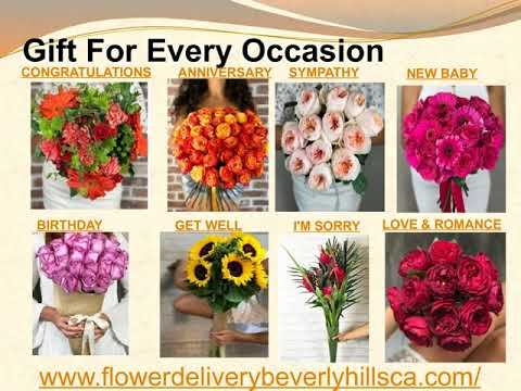 Same Day Delivery in Beverly Hills Flower Delivery Services