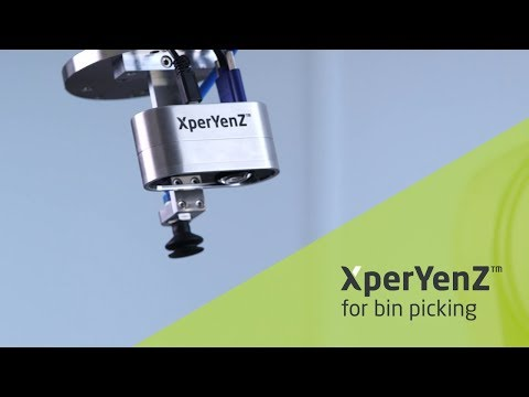Object recognition for bin picking with XperYenZ™ sensor systems