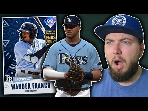 99 WANDER FRANCO IS FREE & AMAZING in MLB The Show 21 Diamond Dynasty!