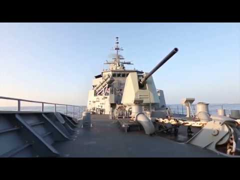 Heroin seizure by HMAS Warramunga