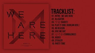 [Full Album] MONSTA X (몬스타엑스) - WE ARE HERE – The 2nd Album Take.2