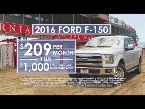 "Salinas Valley Ford - ""Pre-Labor Day Deals"""
