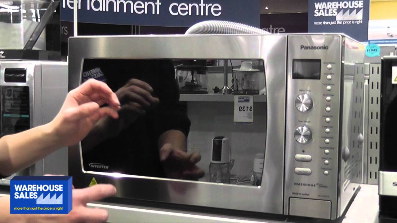 Panasonic 42l Convection Microwave Oven Nn Cd997s Youtube