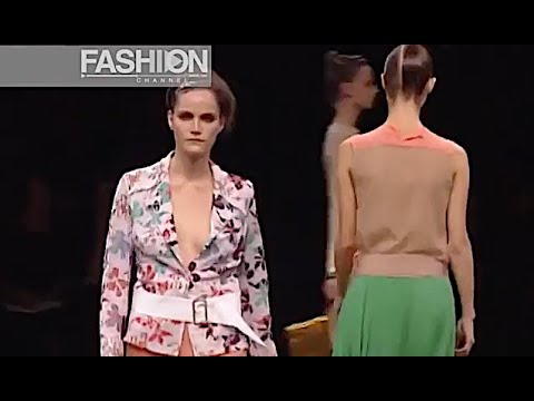DRIES VAN NOTEN Spring Summer 2001 Paris - Fashion Channel