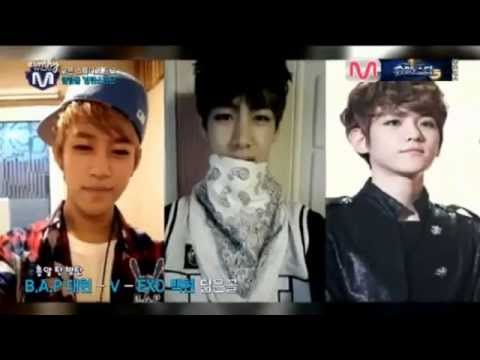130912 BTS's V admits that his mother is Baekhyun