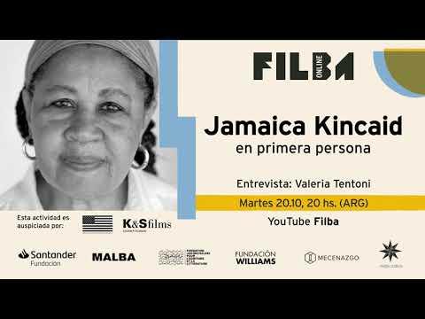 Vidéo de Jamaica Kincaid
