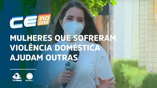 Mulheres que sofreram violência doméstica ajudam outras mulheres