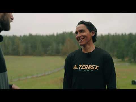 274 sekunder löpning med Andreas Mathsson.