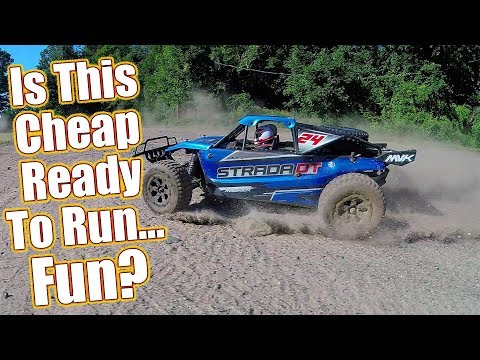 Cheap 4WD Off-Road Fun! Maverick Strada DT 1/10 RTR Electric Desert Racer Review | RC Driver