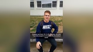 UIS Snapchat Takeover - Alex Phelps in Spain