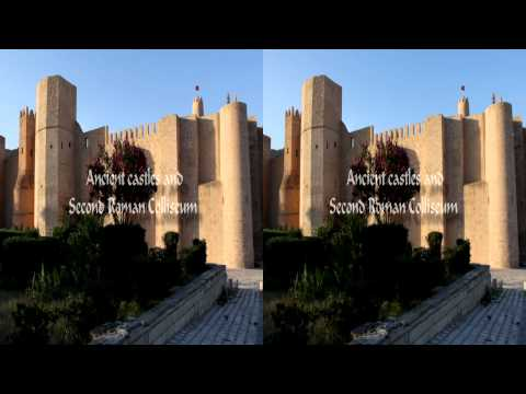 Tunisia HD. First impression. trailer 3D
