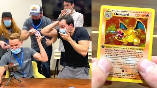 *WE PULLED A $300,000 POKEMON CARD?!* Opening 1st Edition Packs!