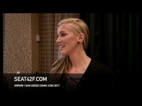 Katie Cassidy ARROW Interview Comic Con HD
