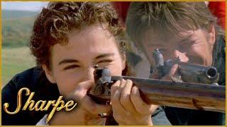 Sharpe Goes Up Against Ellie At A Shooting Range   Sharpe