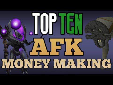 Top 10: AFK Money Making Methods! [Runescape 2015]