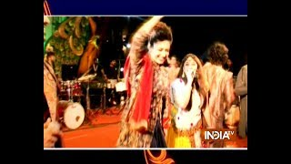 Divyanka Tripathi shows off her garba moves in Nagpur