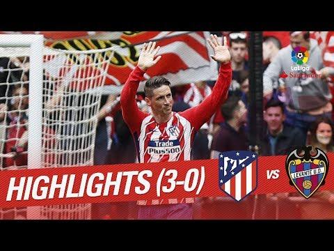 Atlético Madrid vs Levante UD