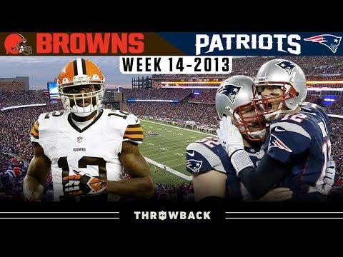 Comeback in a FLASH! (Browns vs. Patriots 2013, Week 14)