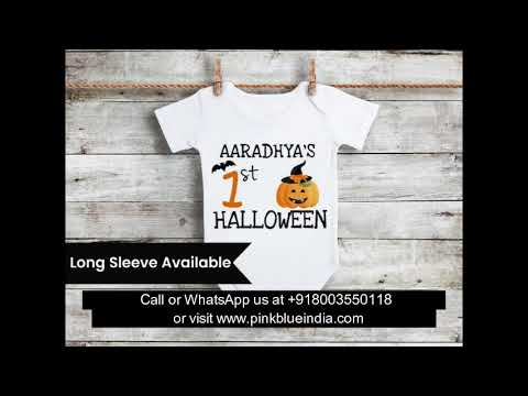 Baby's First Halloween Onesies & Outfits | Cute Halloween Costume ideas for Babies | Baby Bodysuits