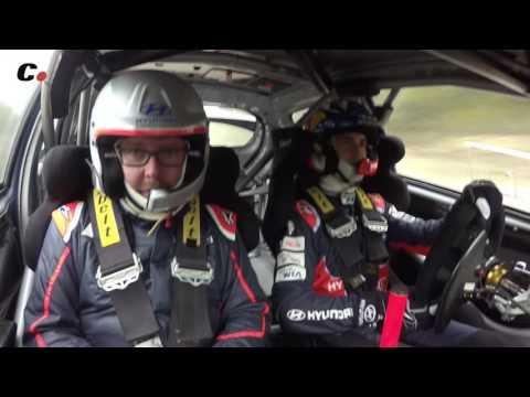 Hyundai i20 WRC - Copilotaje con Dani Sordo - Onboard Rally