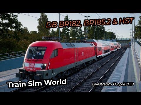 Train Sim World -- Livestream 13/04/2019