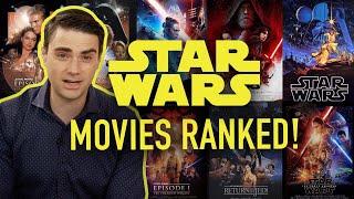 Ben Shapiro Ranks Every Star Wars Movie!