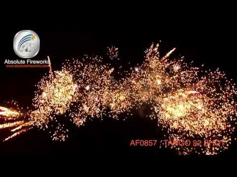 Absolute Fireworks Tango - 92 shot firework