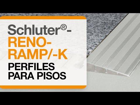 Cómo instalar una transición de baldosas en pisos: Schluter®-RENO-RAMP/-K