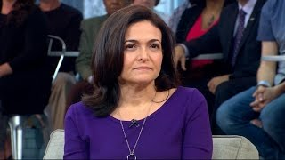 Sheryl Sandberg opens up about the death of her husband