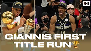 Giannis Antetokounmpo Best Highlights From First Title Run