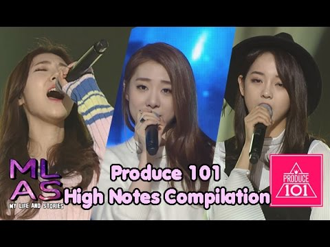 Produce 101 High Notes Compilation