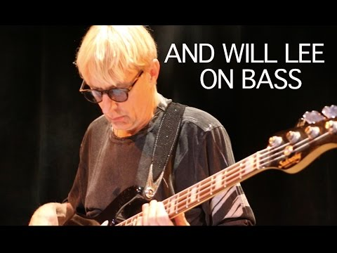 And Will Lee on Bass