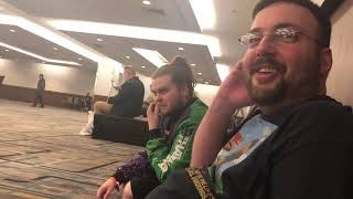 Day In The Life Vlog: WrestleMania 35 Day 3 ROH/NJPW G1 Supercard