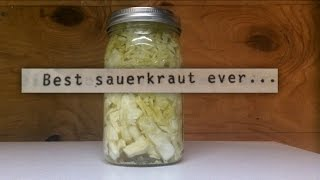 Fermented Sauerkraut | our old family recipe