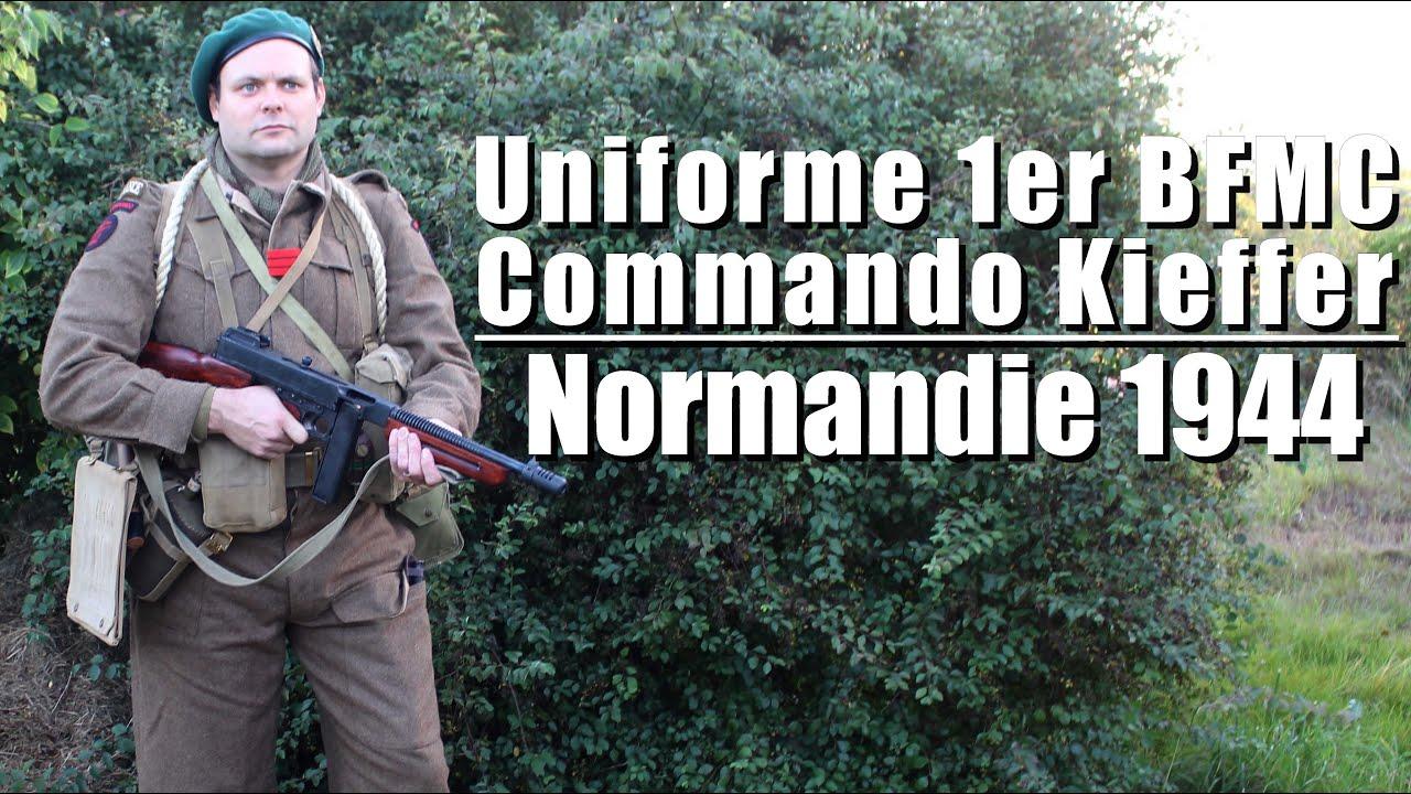 🧥 Uniforme 1er BFMC - Commando Kieffer - Présentation d'uniforme