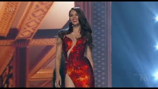 Highlights from evening gown portion of Miss Universe 2018 Top 5