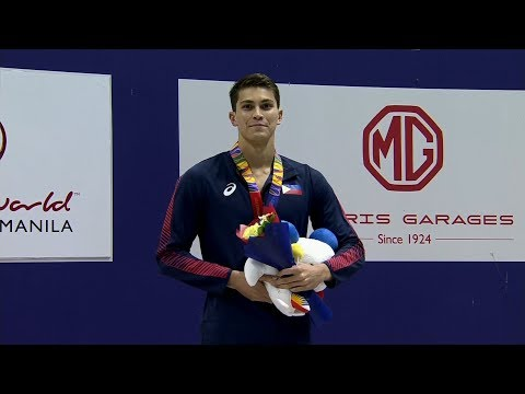 Luke Michael Gebbie wins the BRONZE MEDAL in the Men's 50m Freestyle | 2019 SEA Games