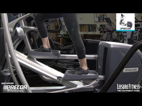 video Precor EFX 447 Precision Series Elliptical Crosstrainer