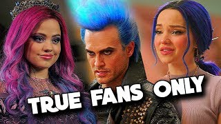 Only True Fans Can FINISH The LYRICS From DESCENDANTS 3