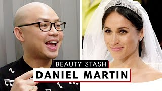 Celebrity Makeup Artist Daniel Martin's MASSIVE Beauty Stash | The Beauty Show | Harper's BAZAAR