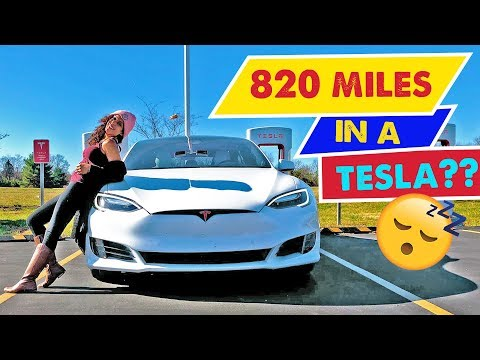 TESLA MODEL S ROAD TRIP – 820 Miles Atlanta to Chicago! | Special Holiday Episode