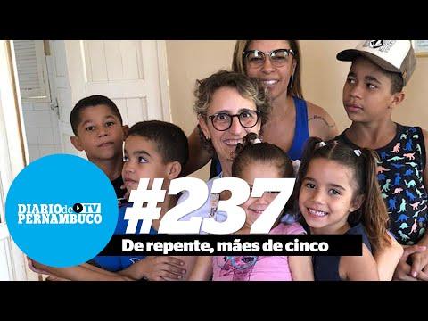 As mães em plena pandemia: casal paulista adota cinco irmãos de Serra Talhada