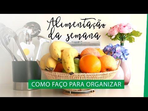 Cardápio Semanal: como organizar a Alimentação da Semana