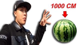 NTN - Ninja Ném Hoa Quả Từ Độ Cao 1000 CM (Fruit ninja cut all fruit from 1000cm hight)