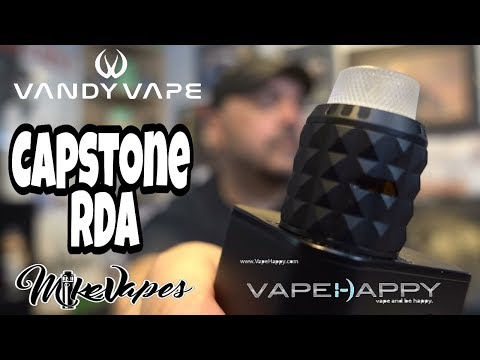 video Vandy Vape Capstone 24mm Bf Rda